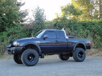 1998 Ford Ranger XLT Extended Cab Stepside 4WD SB, How she will be before December, exterior