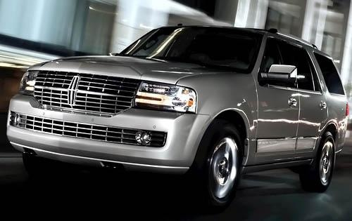 2011 Lincoln Navigator, Front Left Quarter View, exterior, manufacturer