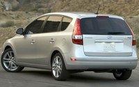 2011 Hyundai Elantra Touring, Back Left Quarter View, exterior, manufacturer