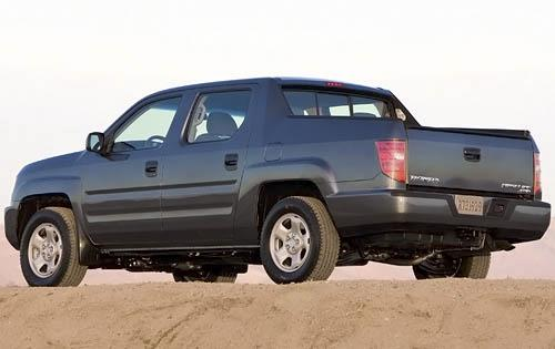 2011 Honda Ridgeline, Back Left Quarter View, manufacturer, exterior