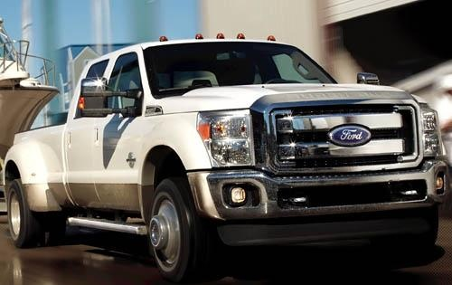 2011 Ford F-450 Super Duty, Front Right Quarter View, exterior, manufacturer