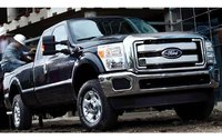 2011 Ford F-350 Super Duty, Front Right Quarter View, exterior, manufacturer