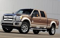 2011 Ford F-350 Super Duty, Front Left Quarter View, exterior, manufacturer, gallery_worthy