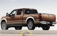 2011 Ford F-250 Super Duty, Back Left Quarter View, manufacturer, exterior
