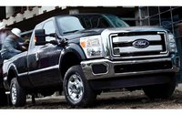 2011 Ford F-250 Super Duty, Front Right Quarter View, exterior, manufacturer