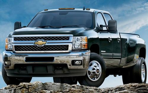 2011 Chevrolet Silverado 3500HD, Front View, exterior, manufacturer