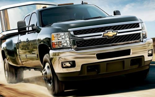 2011 Chevrolet Silverado 3500HD, Front Right Quarter View, exterior, manufacturer
