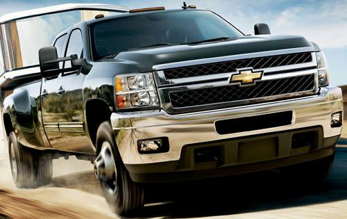 2011 Chevrolet Silverado 3500HD, Front Right Quarter View, manufacturer, exterior