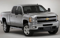 2011 Chevrolet Silverado 2500HD, Front Right Quarter View, manufacturer, exterior