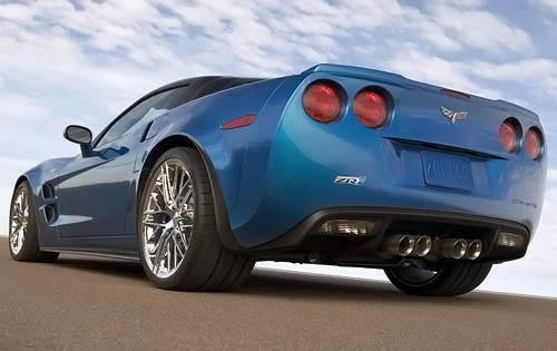 2011 Chevrolet Corvette, Back View, manufacturer, exterior