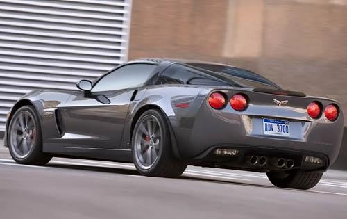 2011 Chevrolet Corvette, Back Left Quarter View, manufacturer, exterior