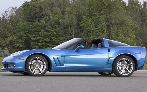 2011 Chevrolet Corvette, Left Side View, manufacturer, exterior