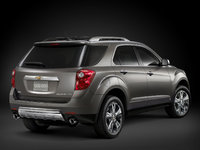 2011 Chevrolet Equinox, Back Right Quarter View, manufacturer, exterior