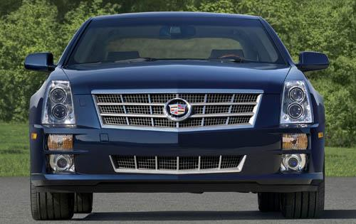 2011 Cadillac STS, Front View, exterior, manufacturer