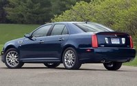 2011 Cadillac STS, Back Left Quarter View, manufacturer, exterior
