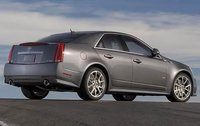 2011 Cadillac CTS-V, Back Right Quarter View, exterior, manufacturer