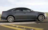 2011 Cadillac CTS-V, Right Side View, exterior, manufacturer