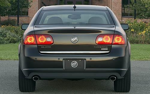 2011 Buick Lucerne, Back View, exterior, manufacturer