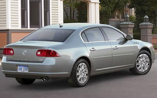 2011 Buick Lucerne, Back Right Quarter View, manufacturer, exterior