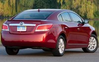 2011 Buick LaCrosse, Back Right Quarter View, exterior, manufacturer