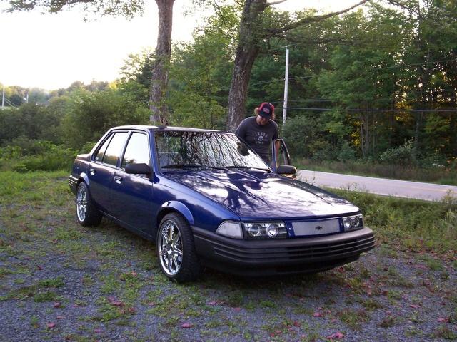 1992 Chevrolet Cavalier VL Sedan FWD, the old car, exterior, gallery_worthy