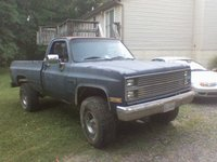 1984 Chevrolet C/K 10, the newest addition... 86 k10... now to get er on the road :), exterior