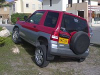 2000 Mitsubishi Pajero, Parking your car Cyprus style #2, exterior
