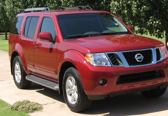 2008 Nissan Pathfinder LE 4X4, Took this about a year ago found it ...