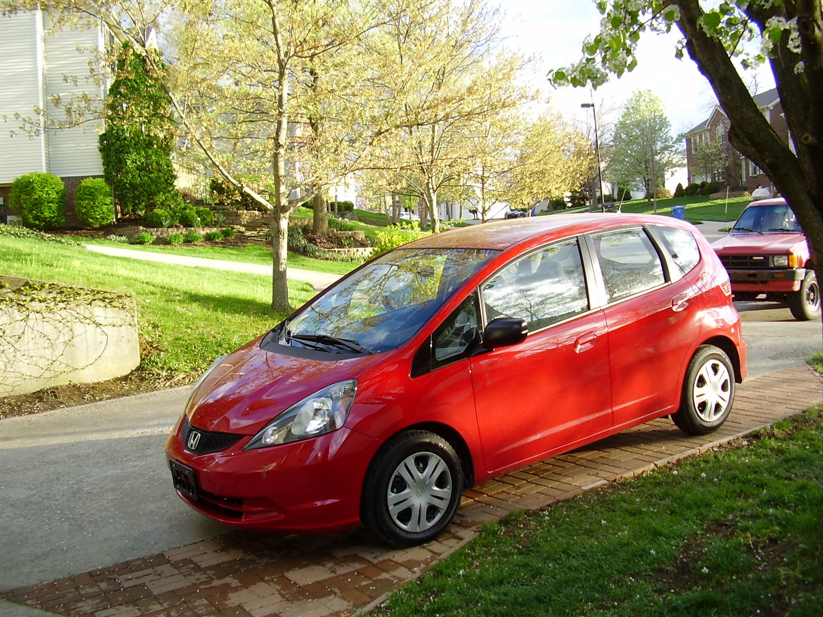 2010 Honda Fit Base picture, exterior