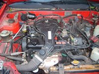 1988 Toyota Tercel, motor is a five speed manual tranny with a 12 valve 1500 four cyl. runs about 29 mpg in city. pushin 78 horses 1.5 litre in line four (I4)., engine