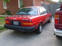 1988 Toyota Tercel, back right side view, exterior