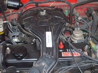 1988 Toyota Tercel, blown up view of the motor, engine
