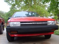1988 Toyota Tercel, front low straight on view, exterior