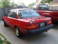 1988 Toyota Tercel, back left side view, exterior