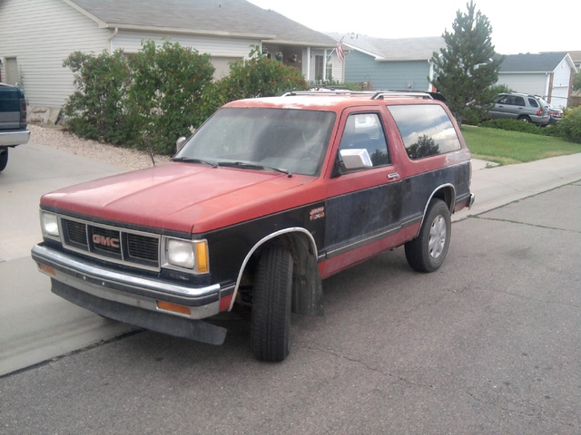 Picture of 1990 GMC S-15 Jimmy 2 Dr Sierra Classic 4WD SUV, exterior, gallery_worthy