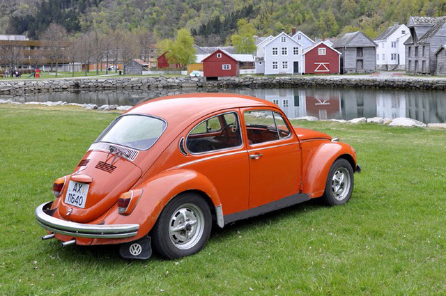 "1971 Volkswagen Super Beetle, ""Berit"" in Lærdal - Norway., exterior, gallery_worthy"