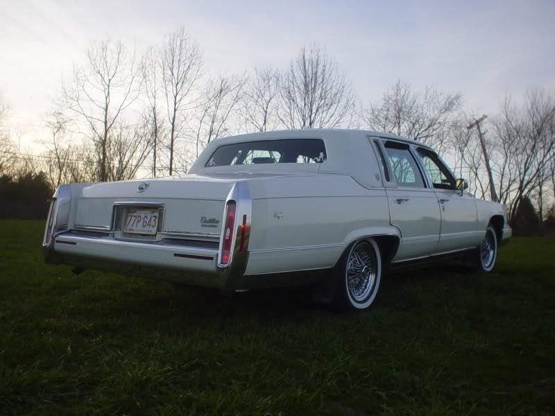 Cadillac Brougham Dr D Elegance Sedan Pic
