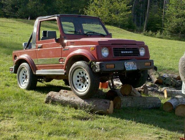 1990 Suzuki Samurai - Pictures