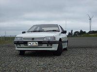 1990 Peugeot 405, Te Apiti windfarm, exterior