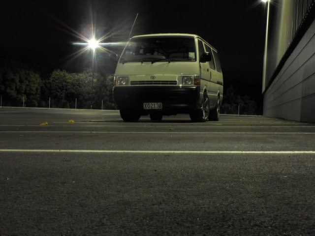 1998 Toyota Hiace, Somewhere in Penrose, exterior, gallery_worthy