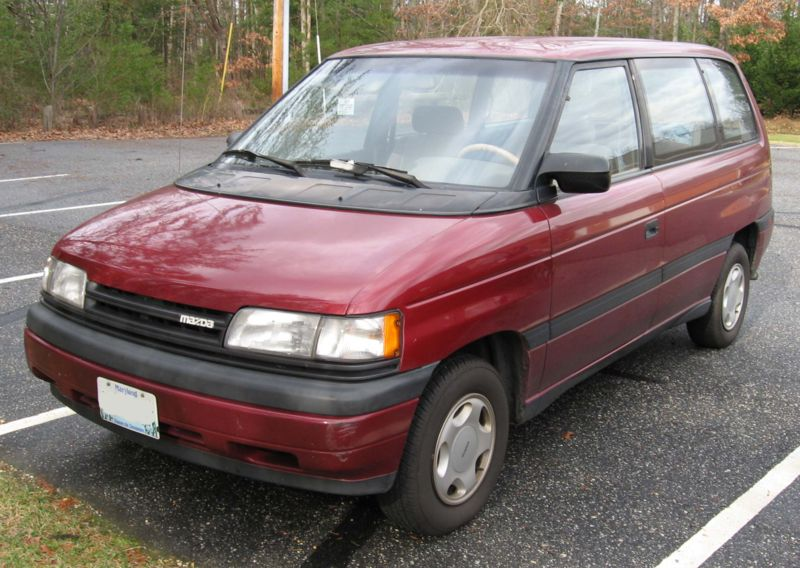 Mazda Mpv 2003. Mazda made a few upgrades to
