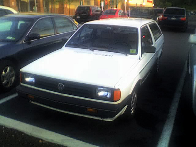 1987 Volkswagen Fox, this is exact copy of my car, exterior, gallery_worthy