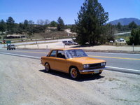 1972 Datsun 510, Still waiting for the chase vehicle