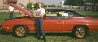 1971 Pontiac GTO, My husband & I restored this car in 1992. We put a '69 428 w/4 bolt main & RAIV cam in it, it had a TH400 & Dk Saddle interior, California car. I used to drag race & show it. Sold it...