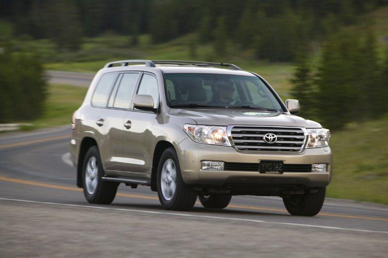 Toyota Land Cruiser 2002. 2010 Toyota Land Cruiser