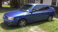 Picture of 2001 Hyundai Accent GL Sedan FWD, exterior, gallery_worthy