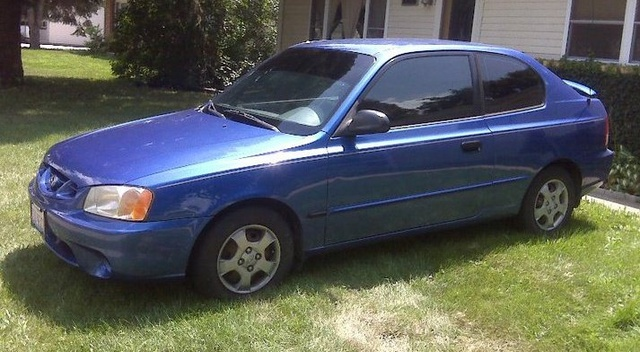 Picture of 2001 Hyundai Accent GL, exterior