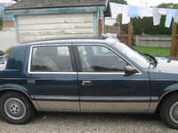 1988 Chrysler Dynasty, body, exterior, gallery_worthy