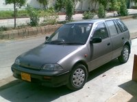 1996 Suzuki Cultus, dis photo was taken on 1st day of Eid 2009, exterior