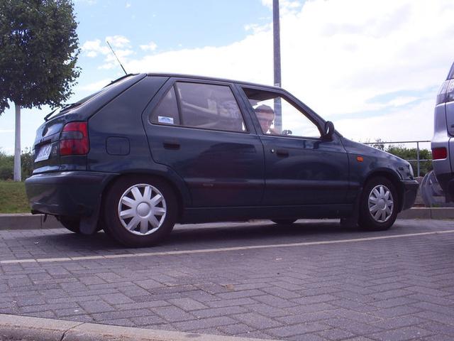1999 Skoda Felicia, lekka gleba ;), exterior